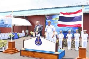 กองทัพเรือไทย-ออสเตรเลีย เปิดฝึกผสมรหัส AUSTHAI 2019