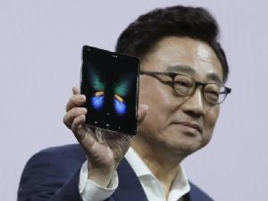 DJ Koh ผู้บริหาร Samsung กับ Galaxy Fold