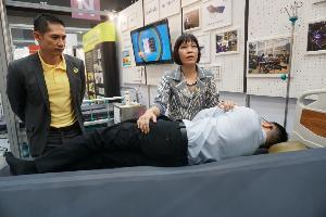 เตียงป้องกันแผลกดทับ ยกตัวได้หลายรูปแบบ-ทิศทาง