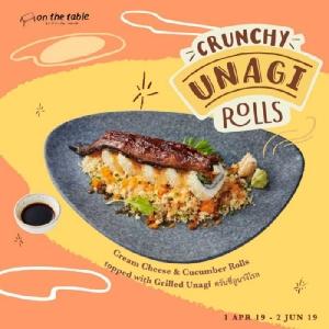 """ลิ้มลองอูนางิ """"UNAGI SUMMER VIBES"""" ที่ On the Table และTokyo Café"""