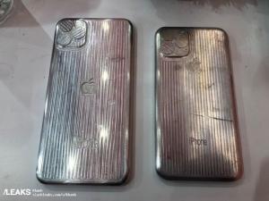 ภาพที่เชื่อว่าเป็น iPhone XI และ XI Max เป็นภาพรูปแบบเครื่องจำลองที่ใช้ในการผลิตเคสของบริษัทอื่นหรือบุคคลที่สาม