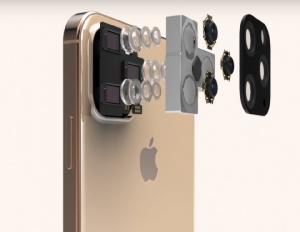 ภาพจำลองที่เชื่อว่าเป็น iPhone 11