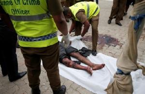 In Pics: ศรีลังกาแบน 2 กลุ่มอิสลามิสต์เบื้องหลังโจมตี  –  2 ตัวการเอี่ยวบึ้มถูกจับ ส่วนเมียลูกผู้นำ NTJ บาดเจ็บ