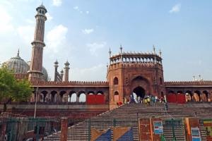 มัสยิดจามา มัสยิดใหญ่ที่สุดในอินเดีย