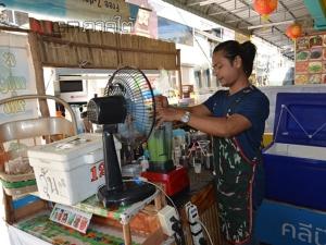 """ใจป้ำ! พ่อค้าน้ำเมืองเบตงชวนคนท้องดื่มกินฟรีจนกว่าจะคลอด ที่ร้าน """"ยู คอฟฟี่"""""""