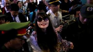 เวียดนามยินดีสาวผู้ต้องหาฆ่าพี่ชายผู้นำเกาหลีเหนือเป็นอิสระเดินทางกลับประเทศ
