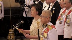 """คณะทูตานุทูต-กงสุล 130 ประเทศ เฝ้าฯ ถวายพระพรชัยมงคล """"ในหลวง"""""""