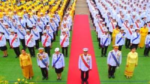 พสกนิกรชาวอุดรฯร่วมในภักดิ์ถวายพระพรชัยมงคลในหลวง ร. 10