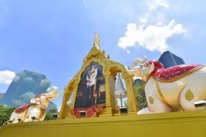 กลุ่มธนาคารไทยพาณิชย์รวมดวงใจถวายความจงรักภักดีพระราชพิธีบรมราชาภิเษก