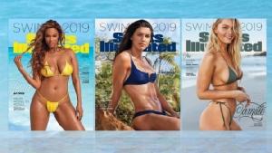 """""""ไทรา แบงค์"""" หวนขึ้นปก Sports Illustrated ฉบับชุดว่ายน้ำอีกครั้งในวัย 45 ปี"""