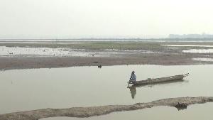 กว๊านพะเยา แหล่งน้ำจืดขนาดใหญ่ ขณะนี้มีน้ำเหลือแค่ 50% ของความจุ