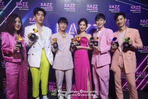 """ฟินฮอลล์แตก!!   """"KAZZ Awards 2019""""กองทัพดาราและศิลปินตบเท้าร่วมงานคับคั่ง"""