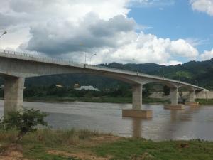 สะพานข้ามแม่น้ำโขงไทย-สปป.ลาว แห่งที่ 4 เชื่อม อ.เชียงของ กับเมืองห้วยทราย