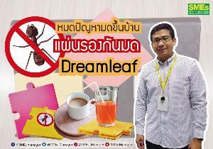 แผ่นรองกันมด AntPad แบรนด์ Dreamleaf ปลอดภัยไร้ยาฆ่าแมลง