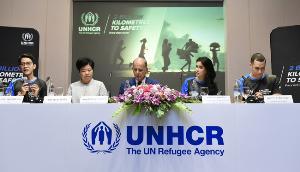 """""""ปู ไปรยา"""" ร่วมวิ่งการกุศล """"2 พันล้านกิโลเมตรเพื่อผู้ลี้ภัย"""""""