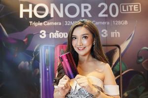 ออเนอร์ตั้งเป้า 4 ปีท้อป 3 ในไทย ล่าสุดเปิดราคาHonor 20 Lite ไม่ถึง 8 พันบาท