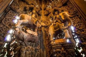 เปิดความงามปราสาทสัจธรรม ปราสาทไม้แห่งเดียวในโลก 1 ใน 10 แหล่งท่องเที่ยวที่ต้องไปชม