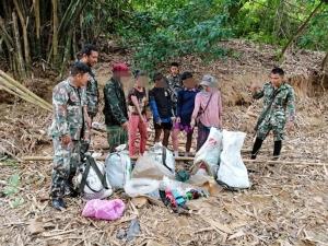 จับ 5 ผู้ต้องหาลักลอบฆ่าและเผาค่างแว่นและของป่าอีกหลายชนิดในอุทยานฯ แก่งกระจาน