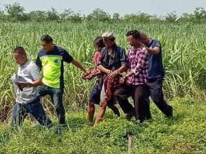ตามรวบ 3 แรงงานพม่าฆ่าโหดเพื่อนร่วมชาติคาไร่อ้อยพิจิตรก่อนหนีข้ามจังหวัด