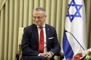 เอกอัครราชทูตโปแลนด์โดนถ่มน้ำลายใส่ในอิสราเอล