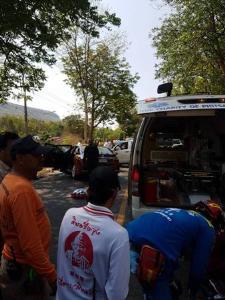 ด่วน! เกิดอุบัติเหตุรถนำขบวนชนกระบะบนถนนวังทอง รอง ผบก.ภ.พิษณุโลก เสียชีวิต