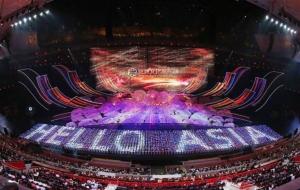 Conference on Dialogue of Asian Civilizations (CDAC) จัดขึ้นที่สนามกีฬาแห่งชาติ หรือสนามกีฬารังนก กรุงปักกิ่ง เมื่อวันที่ 15 พ.ค. 2019 (ภาพ Wang Zhuangfei/China Daily)