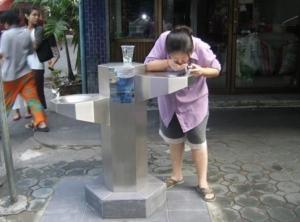 ที่กดน้ำดื่มสาธารณะ คนไทยส่วนใหญ่ยังไม่เชื่อมั่นว่าสะอาด ปลอดภัย