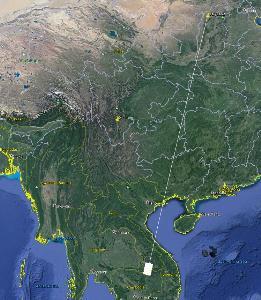 แจ้งพื้นที่เสี่ยงจากการยิงจรวดส่งดาวเทียมของจีน