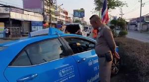 แท็กซี่โหมงานหนักหลังผ่าตัดลำไส้ ช็อกตาย!คาพวงมาลัยขณะขับรถ