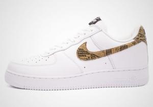 การกลับมาของเหลือม 1996  Nike Air Force 1 'Python Snake'
