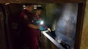 สยอง! คนร้ายฆ่าสองผัวเมียเจ้าของร้านซ่อมท่อสูบน้ำ อ.พรหมพิราม จับยัดอ่างเผาดำเป็นตอตะโก