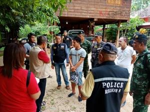 ตำรวจร่วมทหารบุกช่วยหนุ่มลาวถูกจับตัวเรียกค่าไถ่กัญชาอัดแท่ง 500 กก.