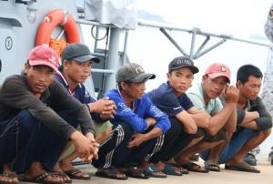 ไม่หมด เรือประมงเวียดนามลอบทำประมงในน่านน้ำไทย ล่าสุด ทร.ภาค 1 จับได้อีก 3 ลำ