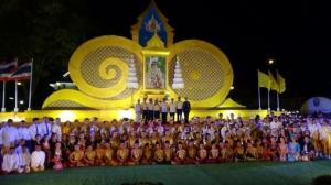 พสกนิกรชาวไทย จัดมหรสพสมโภช พระราชพิธีบรมราชาภิเษก ถวายความจงรักภักดี