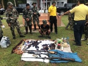 เร่งตาม คดีกองกำลังติดอาวุธลอบเข้าชายแดนล่าสัตว์ป่าสงวน
