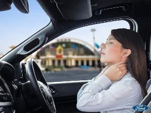 """สารพัดวิธีเลี่ยง """"โรคกล้ามเนื้อ"""" จากการขับรถ"""