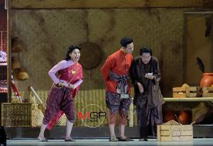 """(ชมคลิป) ภาพชุดการแสดง """"ในสวนฝันฯ"""" ยิ่งใหญ่ตราตรึงใจคนไทยทั้งแผ่นดิน """"โป๊ป-เบลล่า"""" เรียกเสียงกรี๊ดสนั่น"""