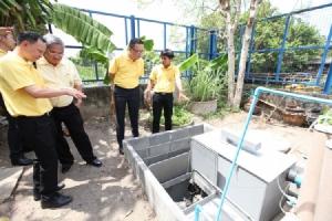 """เอสซีจีเปิดตัว """"ต้นแบบระบบสุขาปลอดเชื้อแห่งแรกในไทย"""" นำร่องติดตั้งที่ชุมชนคลองพลับพลา พระราม 9"""