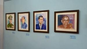 """กลุ่มศิลปินศิลป์ศรีวนาลัย ร่วมวิทยาลัยอาชีวะอุบลฯ จัดศิลปะ """"อารยธรรมสีน้ำ"""""""