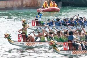 """ลุ้นเชียร์ทีมไทย ใน""""เทศกาลแข่งขันเรือมังกร"""" สุดยิ่งใหญ่ที่ฮ่องกง"""