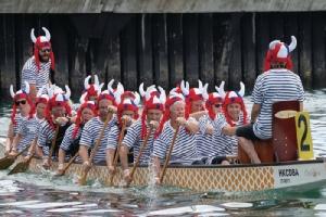 ฮ่องกงจัดใหญ่ เทศกาลแข่งขันเรือมังกร