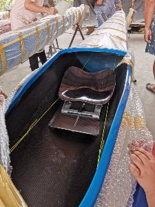 """อดีตทีมชาติเรือพาย ทำ """"เรือแคนู-คายัค"""" นานกว่า 10 ปี แบบไร้คู่แข่ง ฝีมือเนี้ยบเทียบแบรนด์นอก"""
