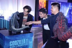 """""""โทนี่ รากแก่น"""" พาแฟนๆ ดูหนังฟอร์มยักษ์ Godzilla II: King of the Monsters ที่ เอส เอฟ"""