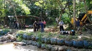 ศาลฯ แพร่พิพากษาประหารชีวิต 3 มือฆ่าแล้วฝังฝรั่งกับภรรยาสาวไทย คุก 25 ปีอีก 1