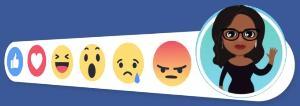 รูปแบบการแสดงฟีเจอร์ Avatar ของ Facebook