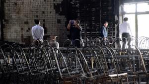 เสียหายกว่า 10 ล้านบาท เพลิงเผาวอดชั้น 2 หอประชุมโรงเรียนดังเมืองขอนแก่น
