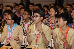 เปิดค่ายสร้างเครือข่ายวิทยาศาสตร์เยาวชนอาเซียน+3