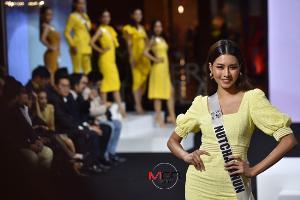 """58 สาว """"มิสยูนิเวิร์สไทยแลนด์"""" พร้อมใจสวมชุดสีเหลือง อวดโฉมสวยตะลึง"""