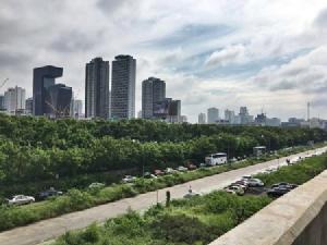 บริเวณมักกะสัน 150 ไร่ ที่บรรดานักพัฒนาที่ดินต่างมองว่าเป็นพื้นที่ทำเลทองใจกลางเมือง