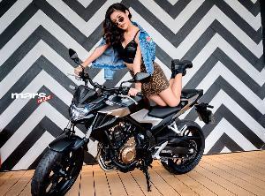 โพสท่าถ่ายรูปอย่างไรให้แซ่บกับ All New Honda CB500F
